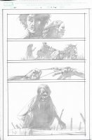Dark Tower The Gunslinger Born Unpublished Issue 07 Page 06 Comic Art