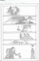 Dark Tower The Gunslinger Born Unpublished Issue 07 Page 18 Comic Art