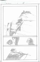Dark Tower The Gunslinger Born Unpublished Issue 07 Page 25 Comic Art