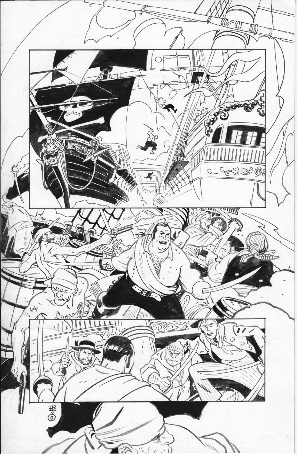 Lobster Johnson Pirates Ghost
