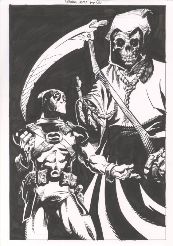 John McCrea Art Sale - Deadpool 49.1