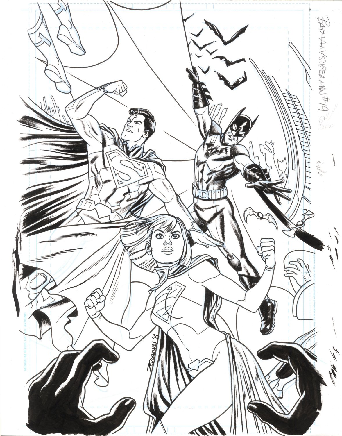 Batman Superman Cover
