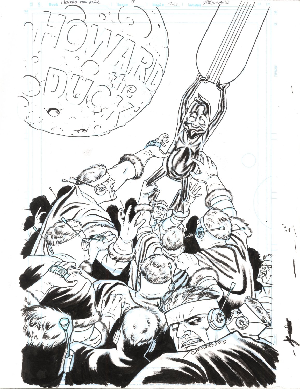 Howard The Duck 5th Series Cover