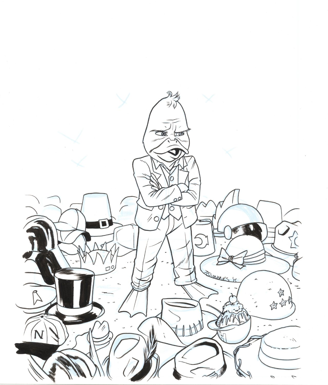 Howard The Duck 5th Series Variant Cover