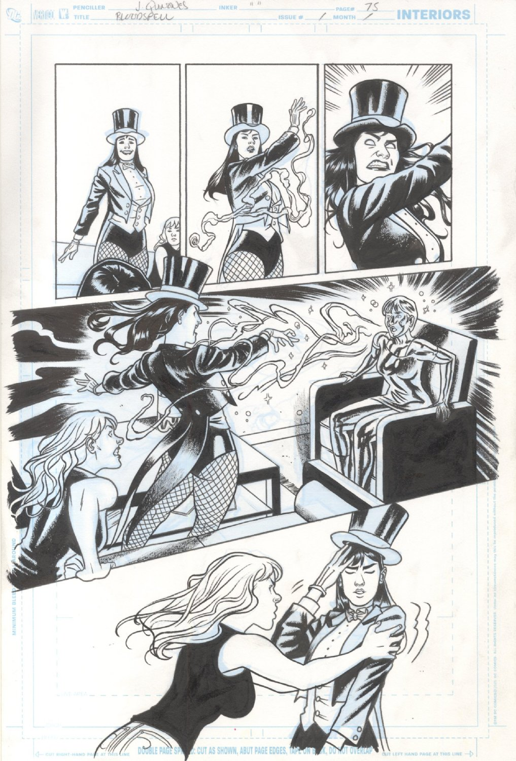 Black Canary and Zatanna Bloodspell HC