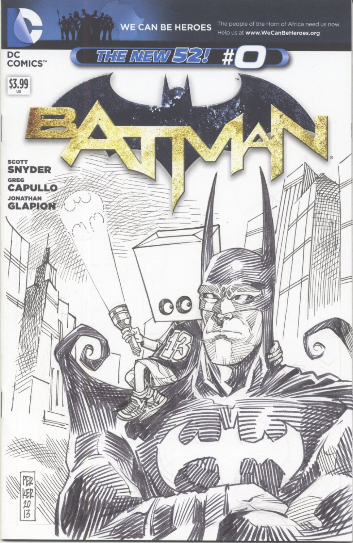 Batman Sketch Comic Commission