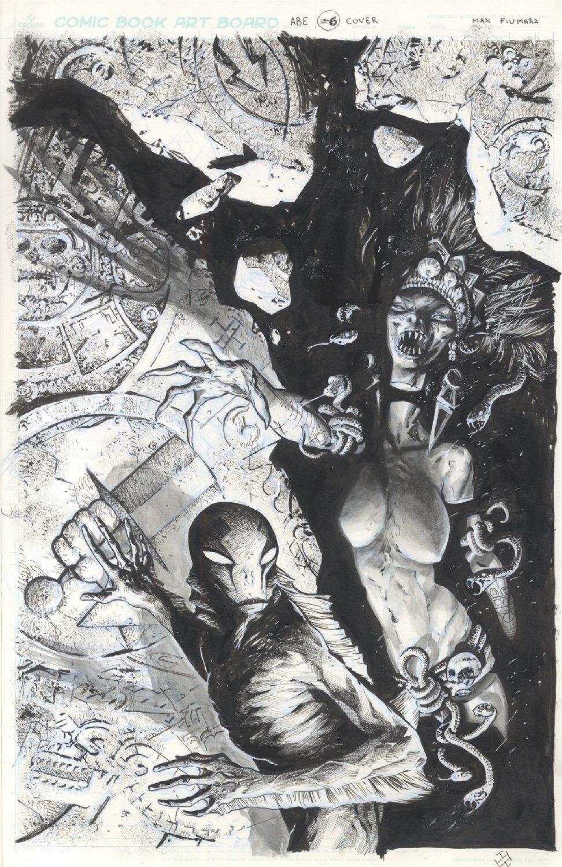 Max Fiumara Abe Sabien Iss 6 Cover Art