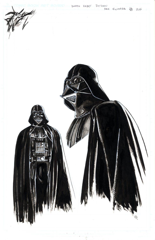 Darth Vader Character Design Front