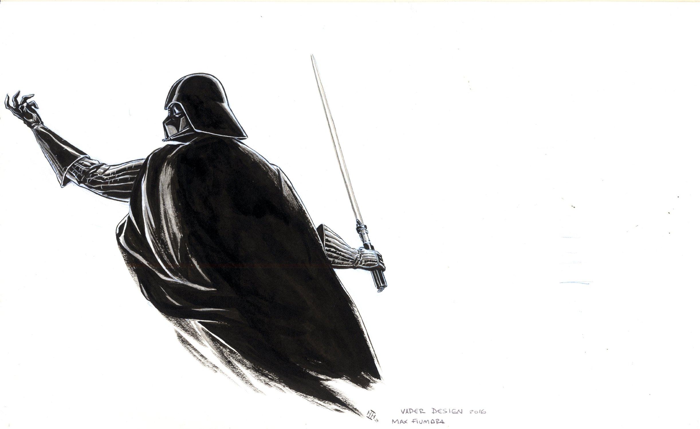 Darth Vader Design Side