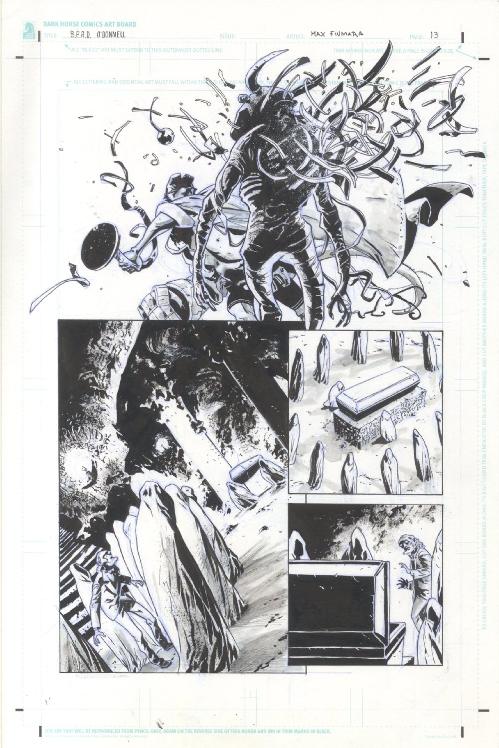 BPRD Hell on Earth Transformation of JH Odonnell
