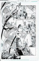 Aquaman Annual Crownspire Issue 01 Page 13 Comic Art