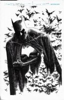 All Star Batman Variant Cover Issue 11 Page Cover Comic Art