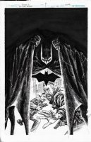 All Star Batman Variant Cover Issue 12 Page Cover Comic Art