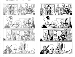 Deadpool Kills The Marvel Universe Again Issue 03 Page 12 Comic Art