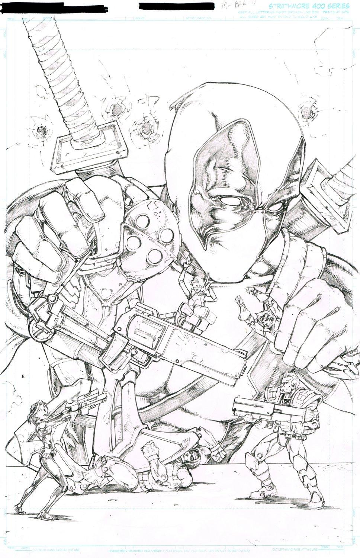 Deadpool Vs X-Force Cover