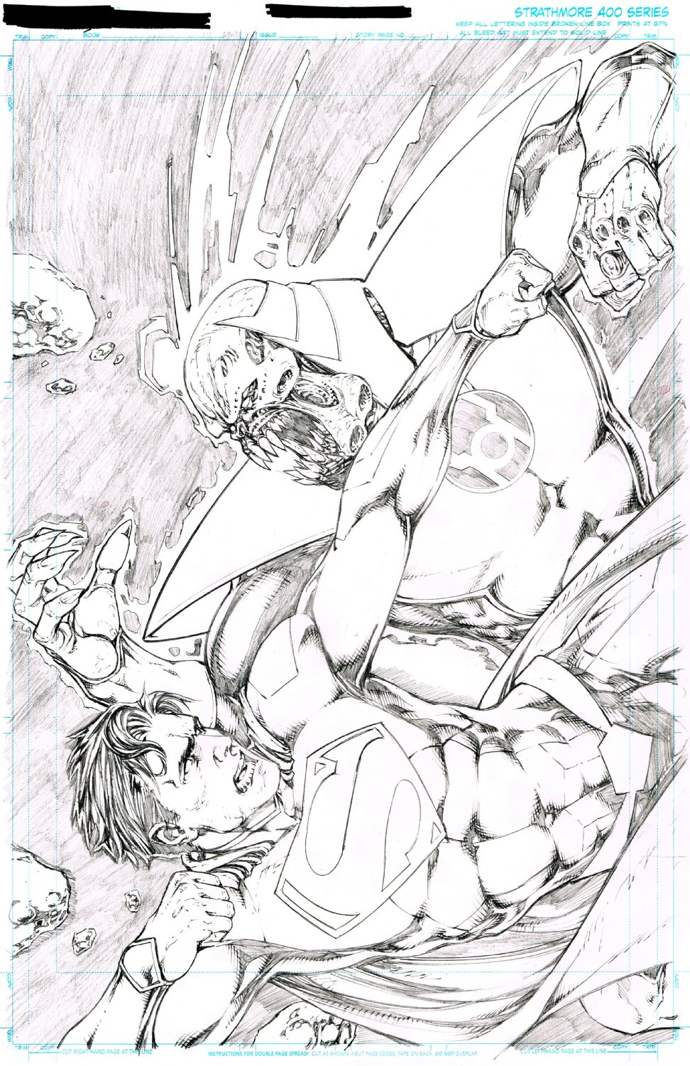 Superman Variant Cover