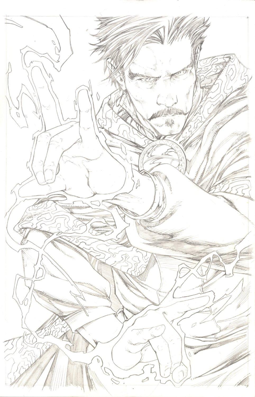 Dr. Strange Last Days of Magic #1 Variant Cover