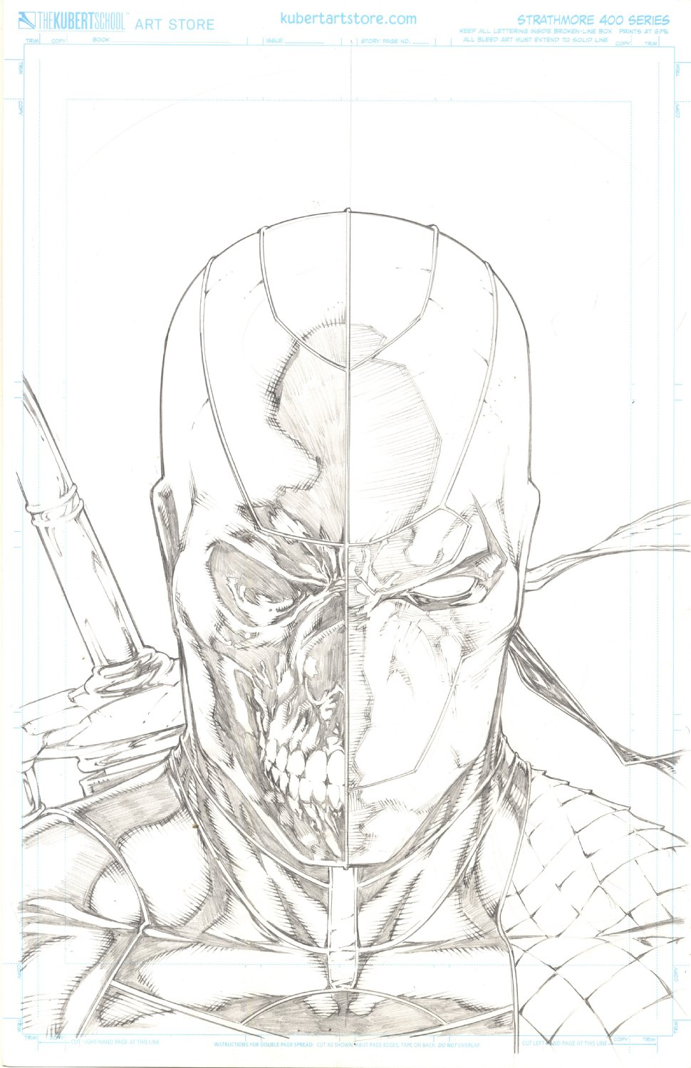 Deathstroke (Rebirth) Variant Cover