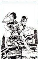 Daredevil Annual 1 Cover Issue Annual 1 Page Cover Comic Art