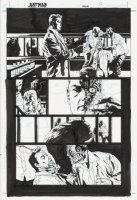 Batman Jekyll and Hyde Issue 4 Page 12 Comic Art