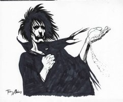 Sandman Comission Page Commission Comic Art
