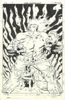Incredible Hulk Issue 468 Page Cover Comic Art
