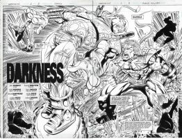 Warstrike Issue 02 Page 02 & 03 Comic Art