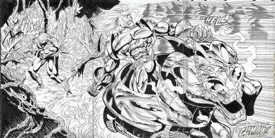 Warstrike Page 25 & 26 & 27 Comic Art