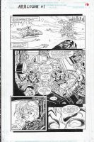 Alien Legion: One Planet at a Time Issue 01 Page 14 Comic Art