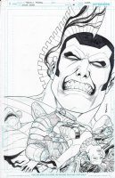 Suicide Squad Cover Issue 29 Page Cover Comic Art