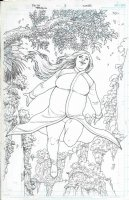 Faith Cover Issue 02 Page Cover Comic Art